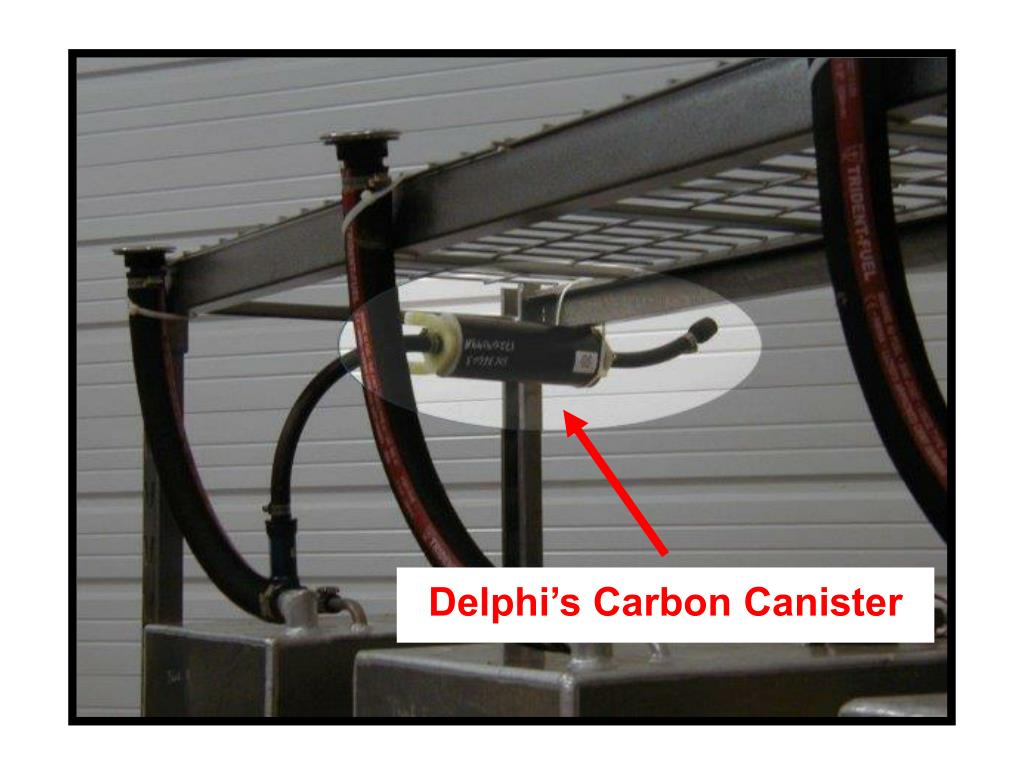 Delphi's Carbon Canister