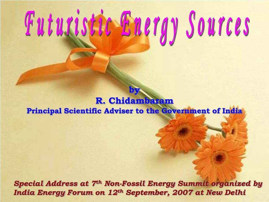 Futuristic Energy Sources
