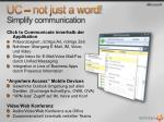uc not just a word simplify communication