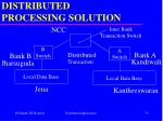 distributed processing solution35