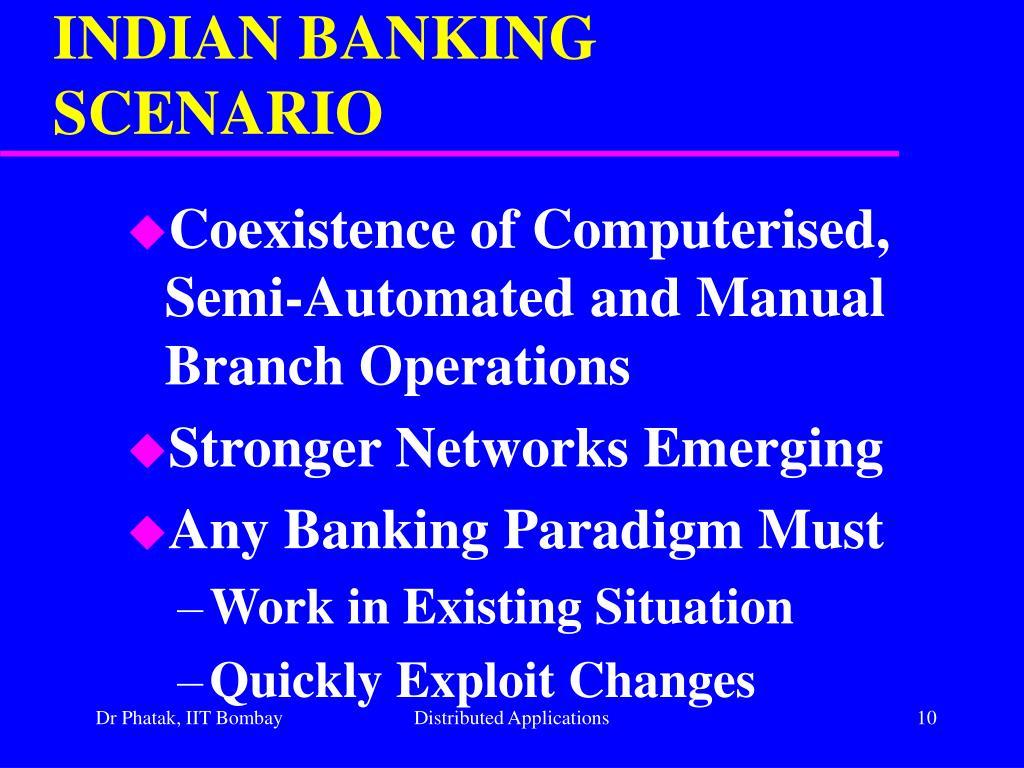 INDIAN BANKING SCENARIO