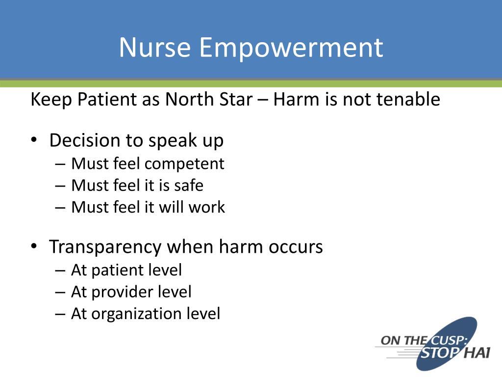 Nurse Empowerment