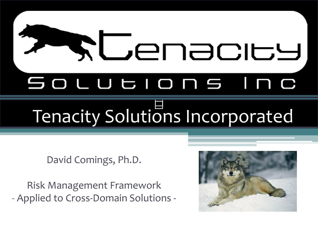tenacity solutions incorporated
