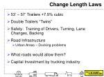 change length laws