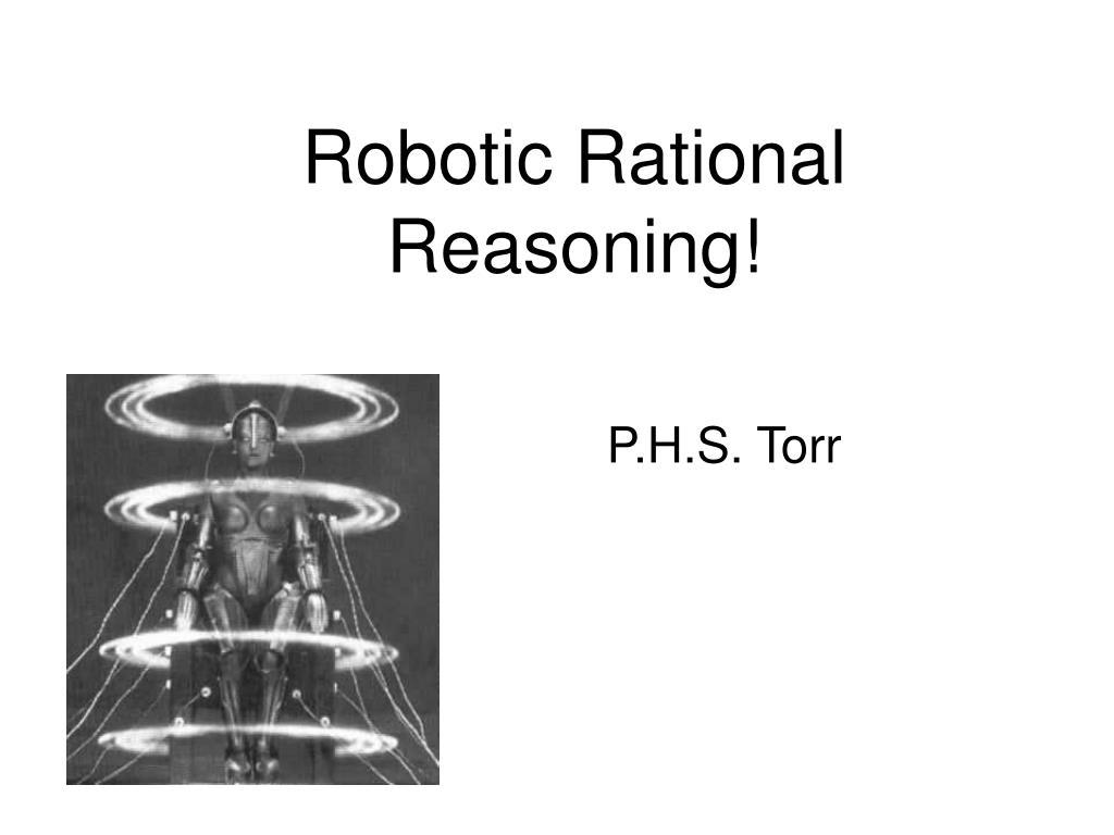 robotic rational reasoning