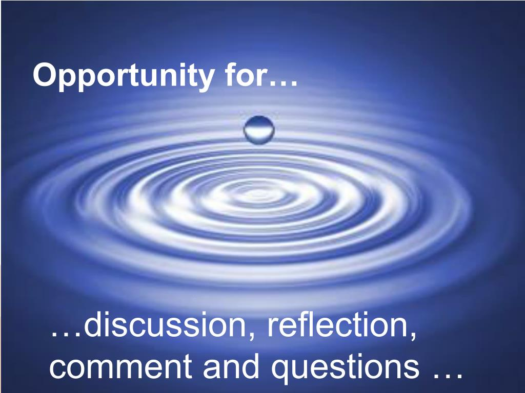 Opportunity for…