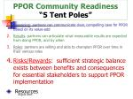 ppor community readiness 5 tent poles15