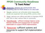ppor community readiness 5 tent poles16