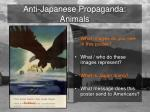 anti japanese propaganda animals