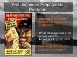 anti japanese propaganda predators