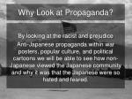why look at propaganda