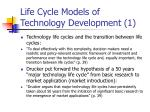 life cycle models of technology development 1