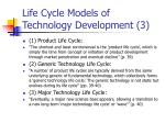 life cycle models of technology development 3