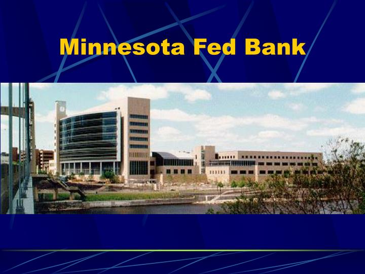 Minnesota Fed Bank