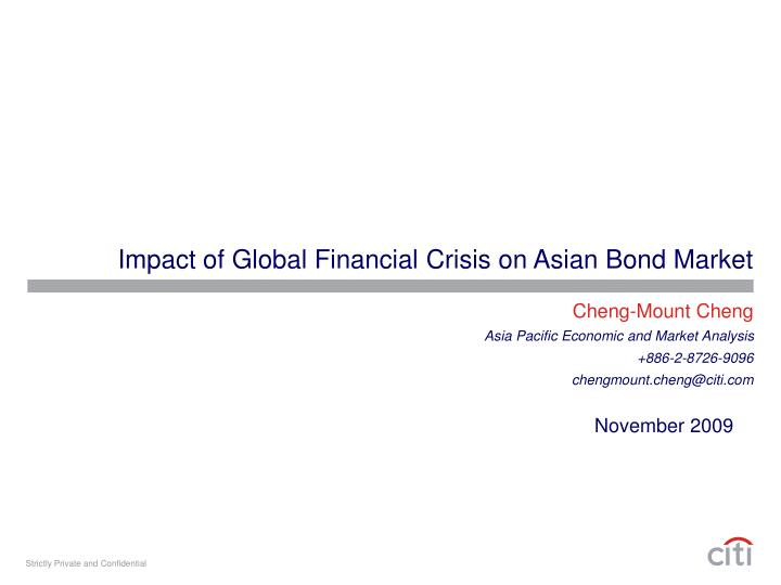 Impact of global financial crisis on asian bond market l.jpg