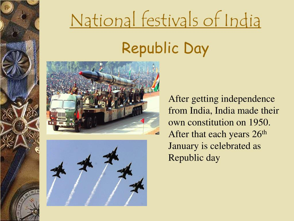 Essay on National Festivals of India