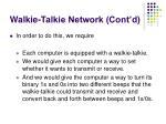 walkie talkie network cont d10