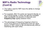 wifi s radio technology cont d14