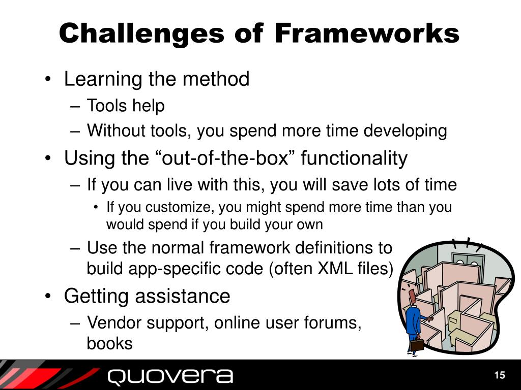 Challenges of Frameworks
