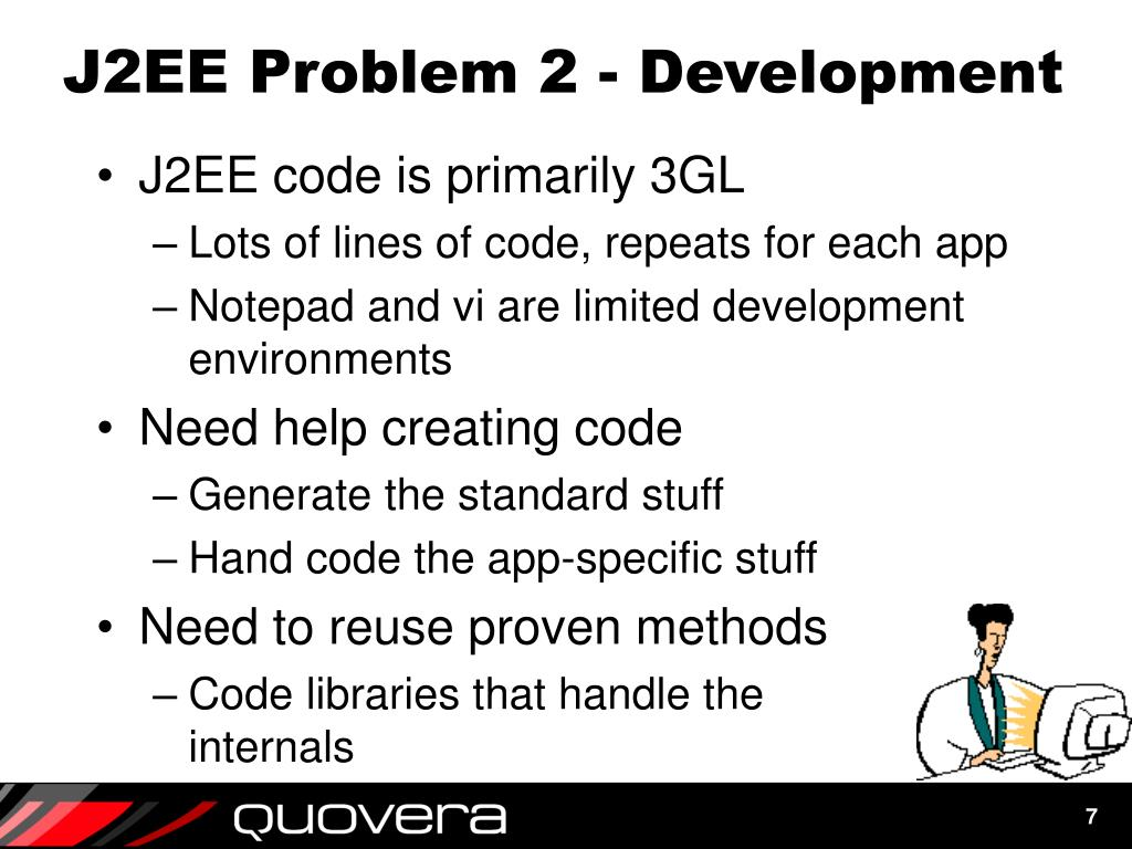 J2EE Problem 2 - Development