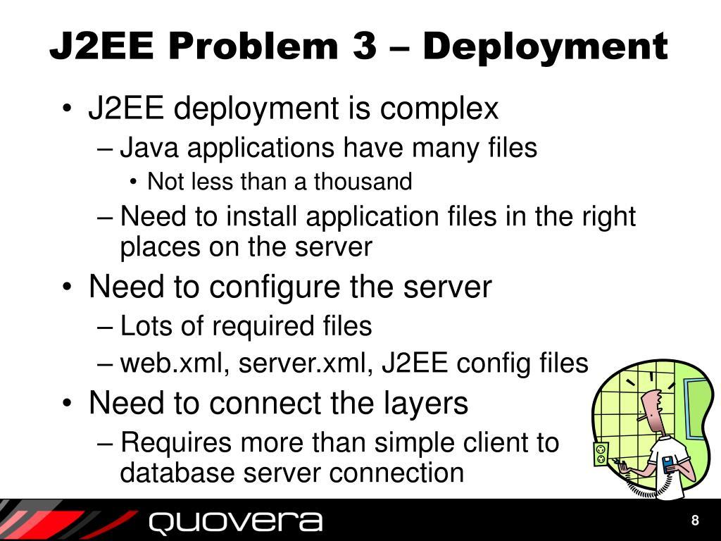 J2EE Problem 3 – Deployment