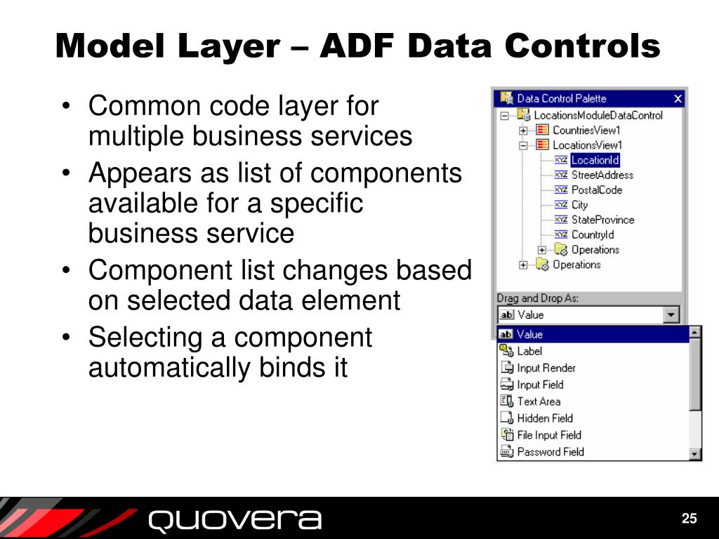 Model Layer – ADF Data Controls