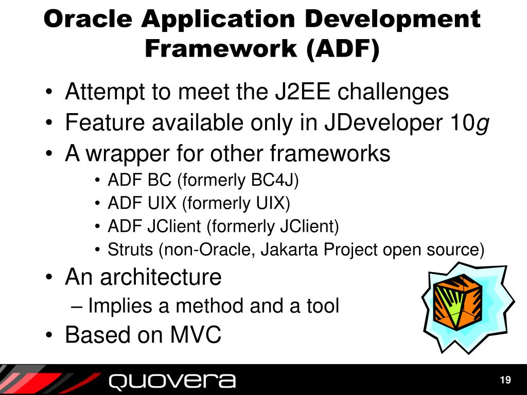 Oracle Application Development Framework (ADF)