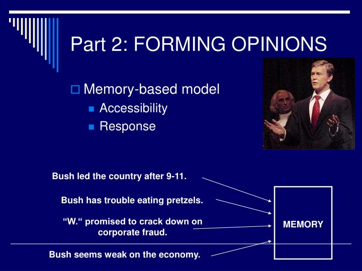 Bush led the country after 9-11.