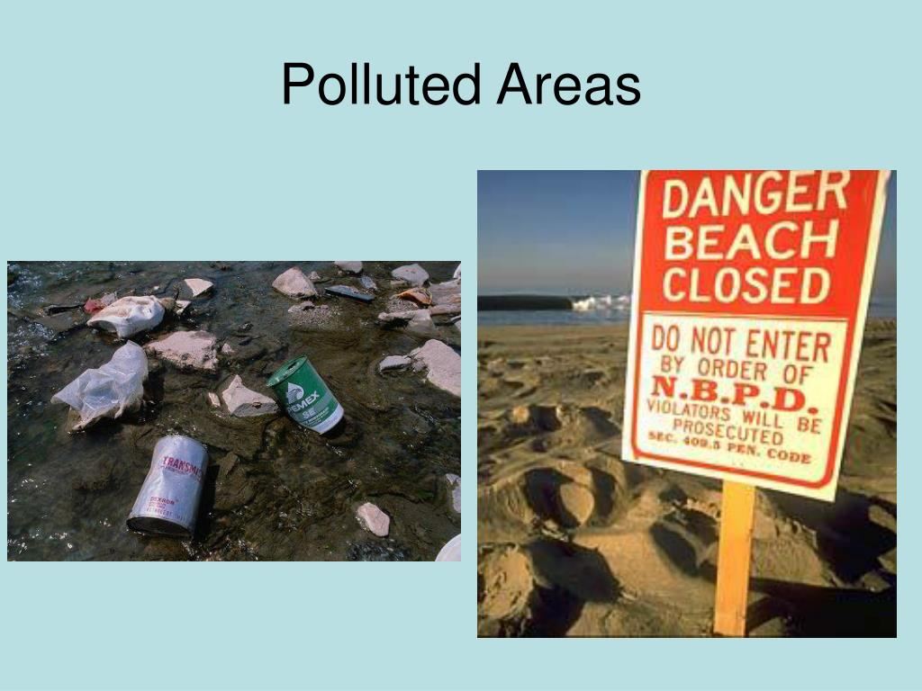 Polluted Areas