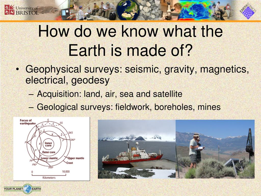 How do we know what the Earth is made of?
