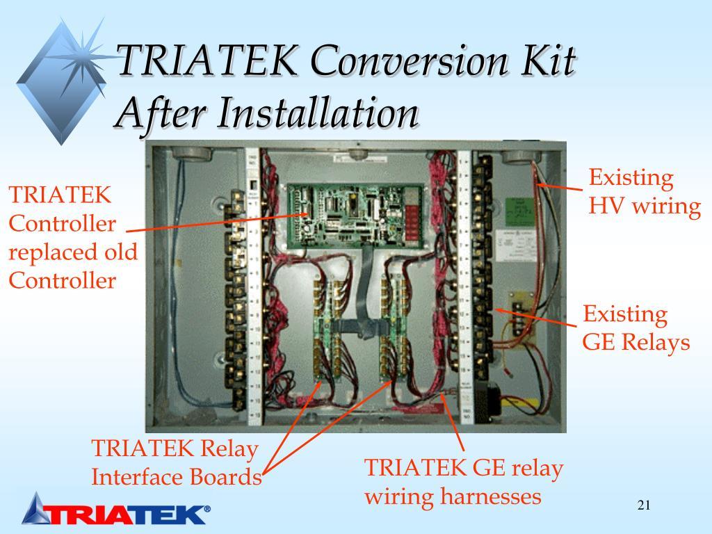 TRIATEK Conversion Kit After Installation