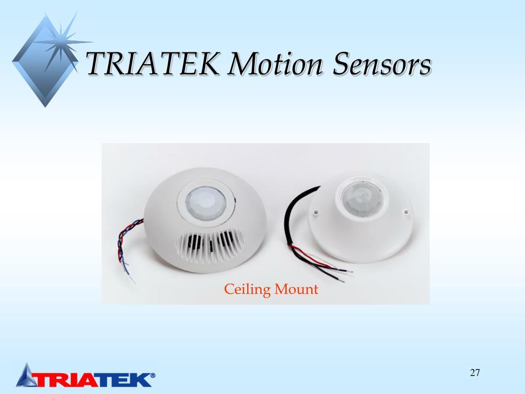 TRIATEK Motion Sensors