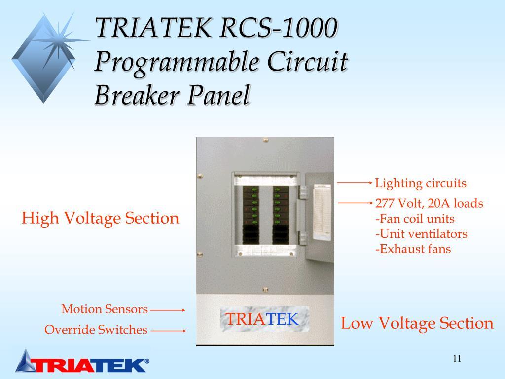 TRIATEK RCS-1000 Programmable Circuit