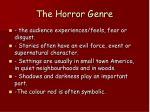 the horror genre3