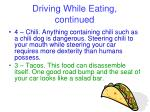 driving while eating continued15