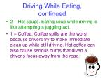 driving while eating continued16