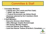committee staff
