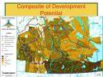 composite of development potential