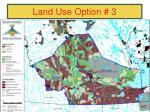 land use option 3