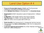 land use option 444