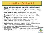 land use option 546