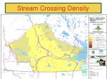 stream crossing density87
