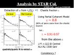 analysis by star col