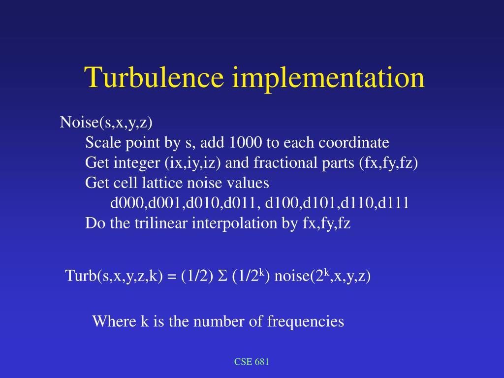 Noise(s,x,y,z)