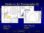hydro vs jet tomography 1