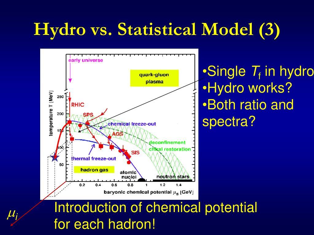 Hydro vs. Statistical Model (3)