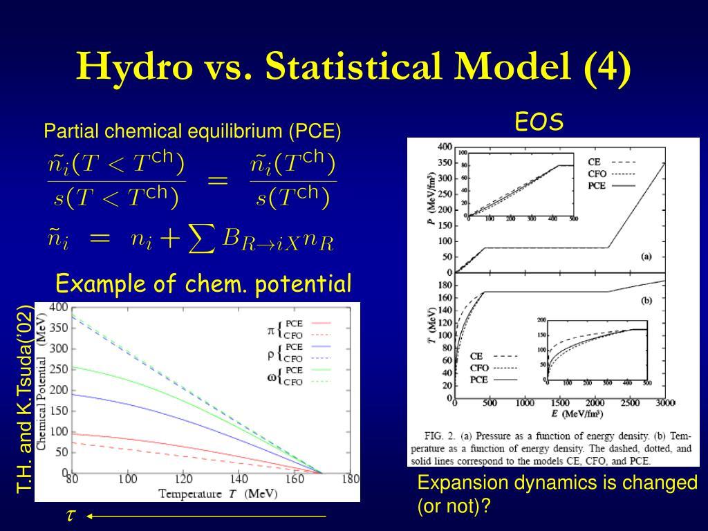Hydro vs. Statistical Model (4)