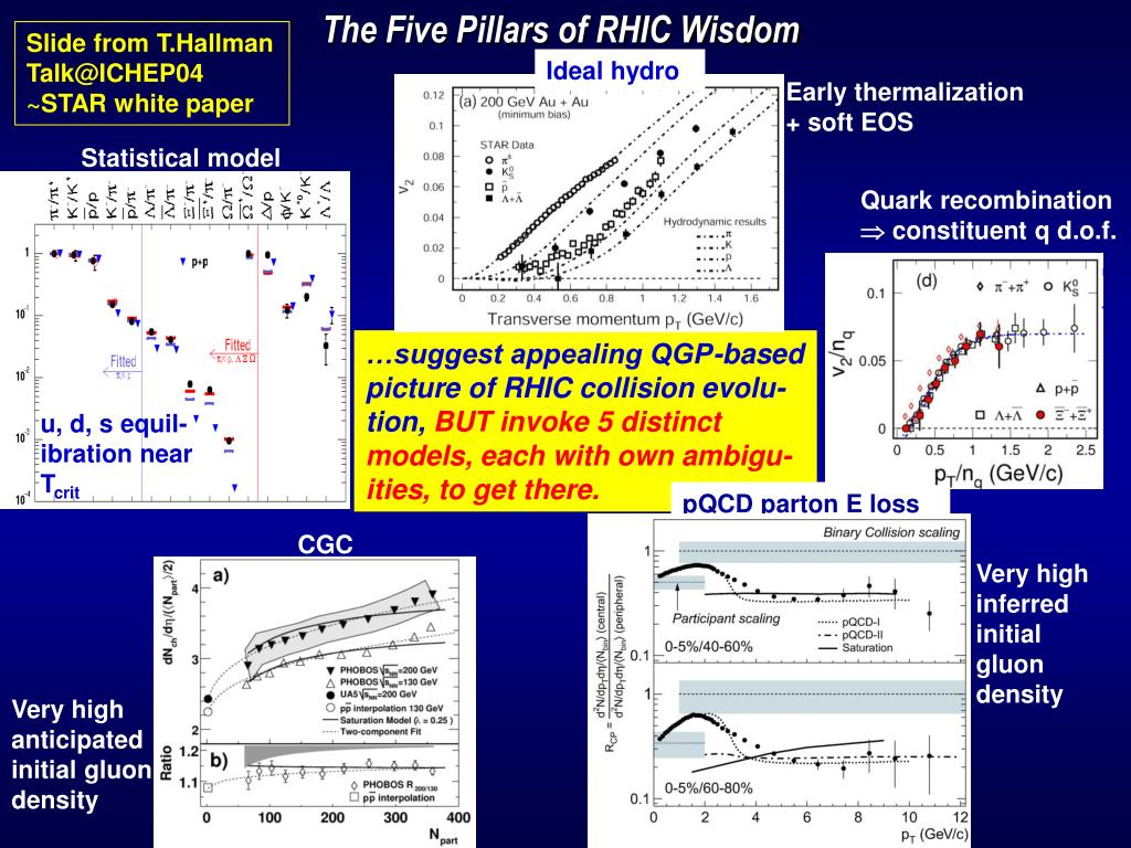 The Five Pillars of RHIC Wisdom