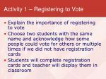 activity 1 registering to vote7