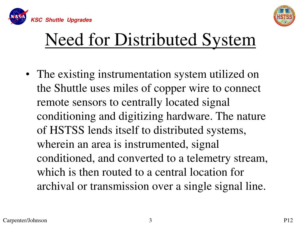 Need for Distributed System